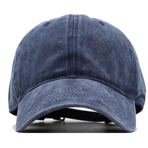 Women Men Vintage Retro Hat Baseball Caps Washed Dyed Cotton Hats Twill Low Profile Plain Adjustable
