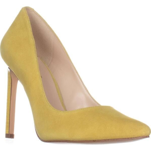 8994046b0 Shop Nine West Tatiana Pointed Toe Dress Pumps, Yellow - Free ...