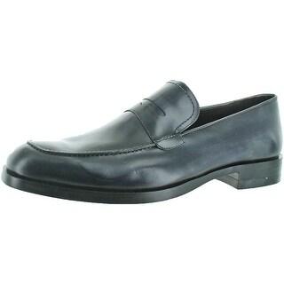 Donald J Pliner Zylon Men's Leather Loafer Dress Shoe (Option: Cognac - 7)
