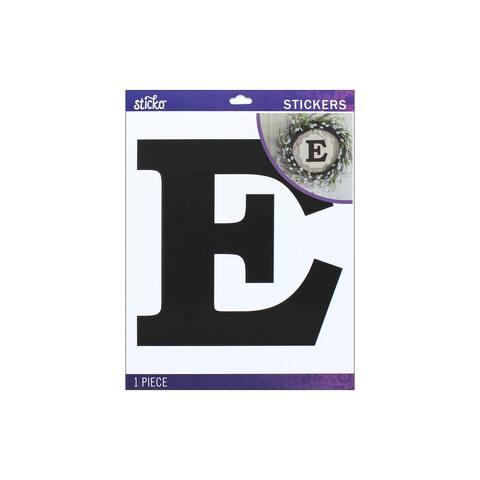 52-90439 ek sticko sticker jumbo basic black monogram e
