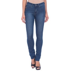 Lola Kate-MB, High Rise Straight Leg Jeans With 4-Way Stretch Technology