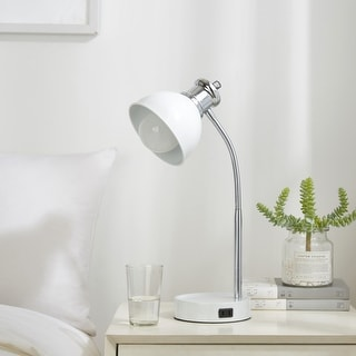 Link to College Caravan Charging Two Tone Lamp with Catch-all Base Similar Items in Billiards & Pool