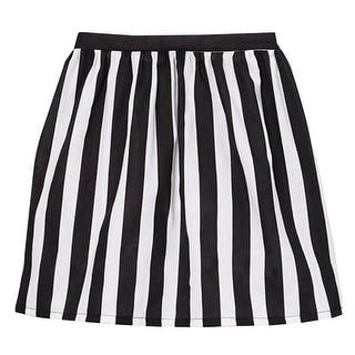 Girls Black White Contrast Vertical Striped Pattern Cotton Skirt 7-10 (Option: 7) https://ak1.ostkcdn.com/images/products/is/images/direct/d0b8d116b5941c6ab56677770475092e640ede6c/Big-Girls-Black-White-Contrast-Vertical-Striped-Pattern-Cotton-Skirt-7-10.jpg?impolicy=medium
