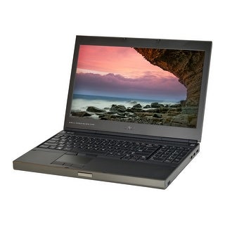 Dell Precision M4700 3rd Gen Quad Core i7-3840QM 2.8GHz 16GB RAM 500GB HDD DVD-RW Win 10 Pro 15.6-inch Laptop (Refurbished)