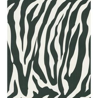 Brewster 405-46966 Congo White Zebra Wallpaper