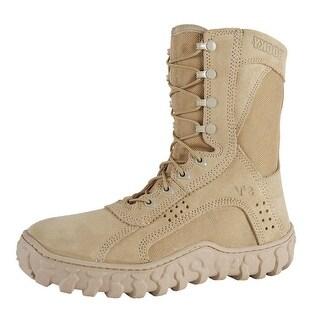 """Rocky Tactical Boots Mens 8 1/2"""" S2V Desert Tan FQ0000105"""