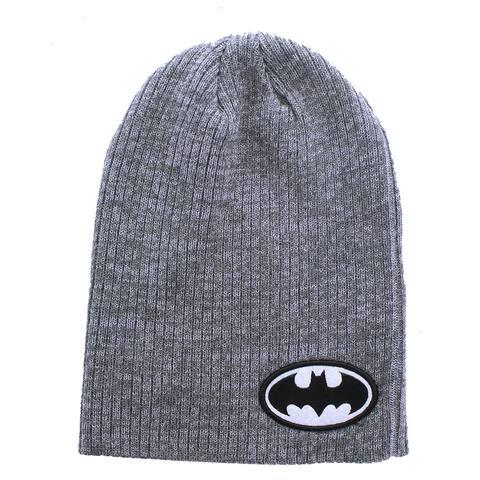Batman Logo Grey Beanie