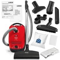 Miele Classic C1 Titan Canister HEPA Vacuum Cleaner + SEB217-3 Powerhead + SBB-3 Parquet Floor Brush + More