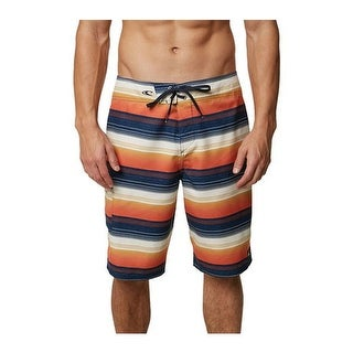 O'Neill Men's Santa Cruz Ultrasuede Stripe Boardshort Bone