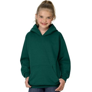 Hanes Youth ComfortBlend EcoSmart Pullover Hoodie - M