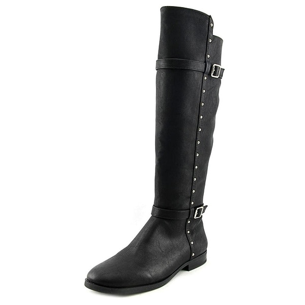 INC International Concepts Womens Ameliee Leather Closed Toe Mid-Calf Riding ...