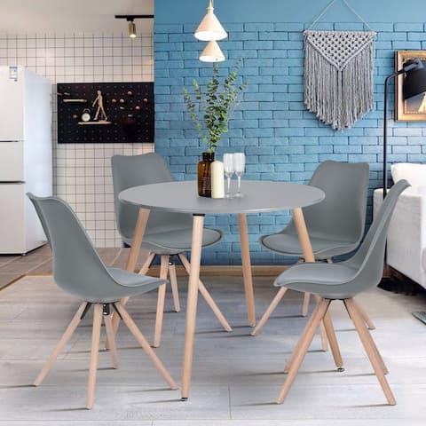 Carson Carrington Mid-Century Modern Round Dining Table