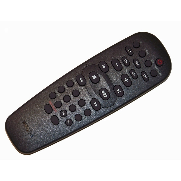 OEM Philips Remote Control Originally Shipped With: MCM530, MCM530/37, MCM53037