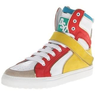 Dsquared2 Mens Vitello Sport Casual Leather Fashion Sneakers - 43 medium(d)