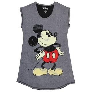 Disney Women's Mickey Mouse Nightgown Sleep Shirt