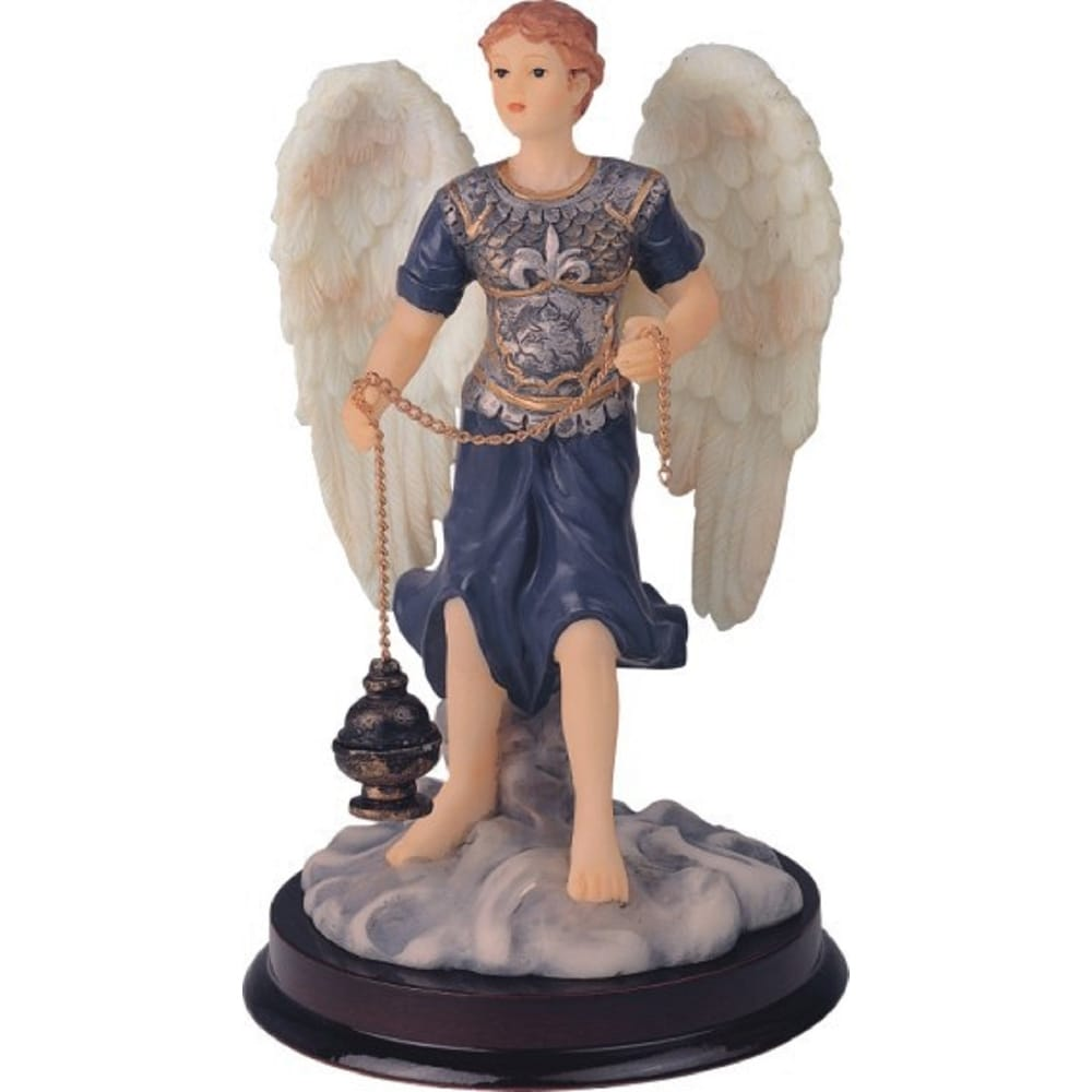 Q Max 6 H Archangel Sealtiel Statue Angel Of Prayer Holy Figurine Religious Decoration On Sale Overstock 32433435