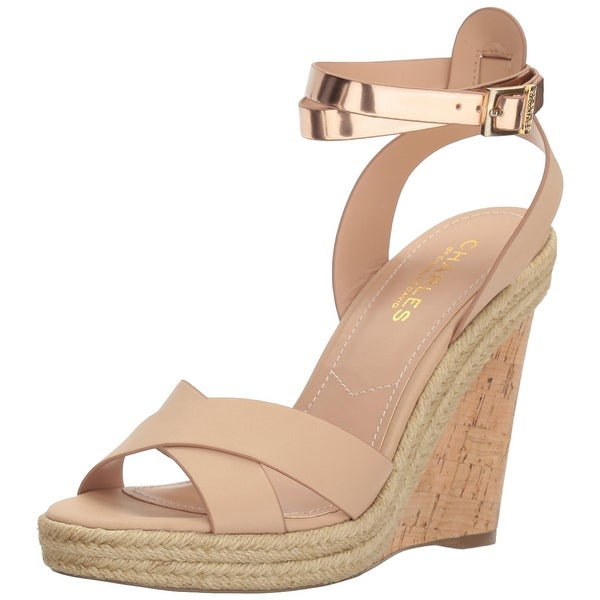 Charles by Charles David Womens Brit Open Toe Casual Platform Sandals