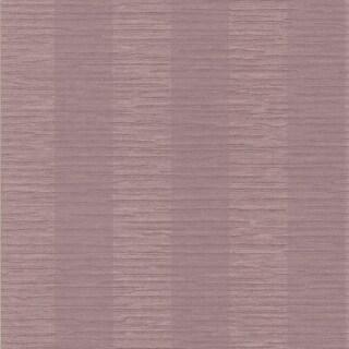 Brewster 295-66524 Carmina Purple Crepe Stripe Wallpaper