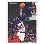 LaPhonso Ellis Denver Nuggets 1994 Fleer Autographed Card This item comes with a certificate of authenticity from Aut