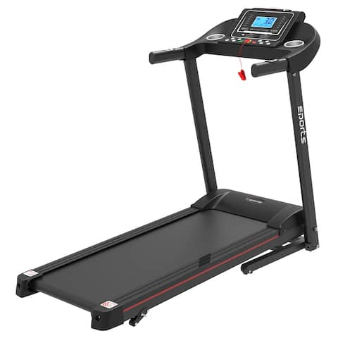 """Moda Exercise Running Machine with 5"""" LCD Display for Home Use"""
