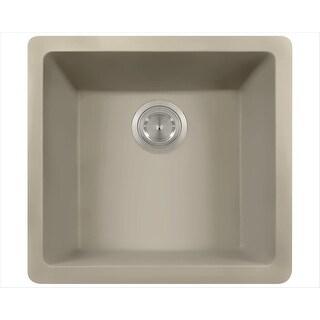 MR Direct 805-Slate Slate TruGranite Single Bowl Kitchen Sink