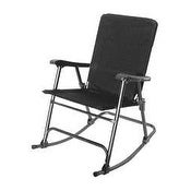 Prime Products 136509 Elite Black Folding Rocker