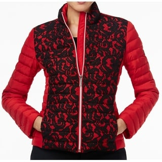 Michael Kors NEW Red Blaze Womens Size Small S Lace Puffer Jacket|https://ak1.ostkcdn.com/images/products/is/images/direct/d0c53664e5afc32fd89d58f0ac658afbb857a860/Michael-Kors-NEW-Red-Blaze-Womens-Size-Small-S-Lace-Puffer-Jacket.jpg?impolicy=medium