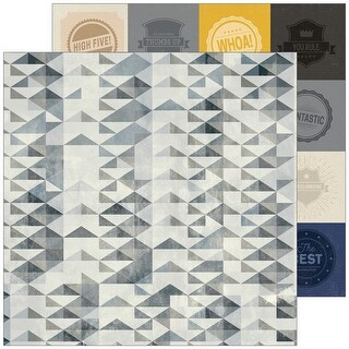 """Boys Fort Double-Sided Cardstock 12""""X12""""-High Five"""