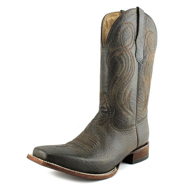 Circle G by Corral L5258 Women D Square Toe Leather Green Western Boot