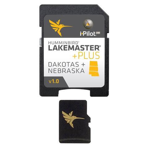Humminbird LakeMaster Dakotas/Nebraska PLUS - Version 1 w/ 100 High Definition Lakes 600013-4