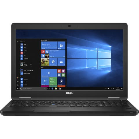 "Dell Precision 3520 i7-7820HQ 32GB 512GB SSD 15.6"" W10P (Refurbished)"