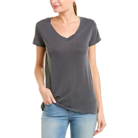 Stateside V-Neck T-Shirt - Charcoal
