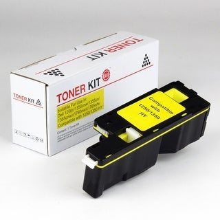 Value Brand replacement for Dell 1250C Yellow Toner (1,400 Yield)