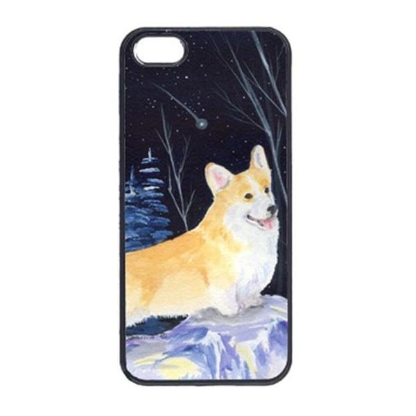 info for e0f10 4f7d5 Carolines Treasures Starry Night Corgi Cell Phone Cover Iphone 5