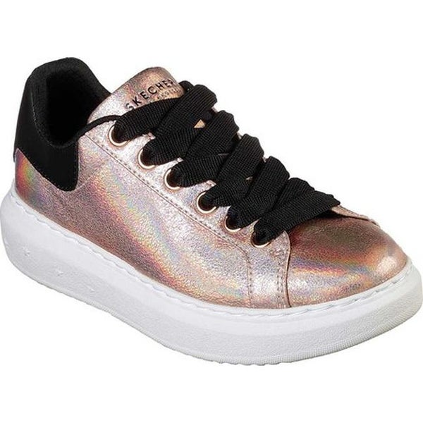9e5070bd99d9 Shop Skechers Women s High Street Metallic Maiden Sneaker Rose Gold ...