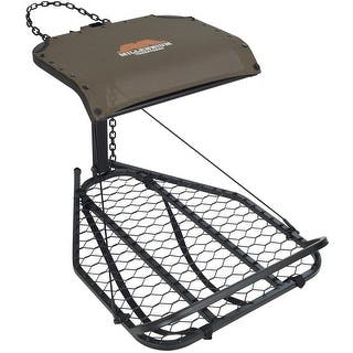 Millennium M-25A Steel Hang-On Treestand - M-025-SL|https://ak1.ostkcdn.com/images/products/is/images/direct/d0c9733cfa41987b5aa82958a8d452e702ae4cb8/Millennium-M-25A-Steel-Hang-On-Treestand---M-025-SL.jpg?impolicy=medium
