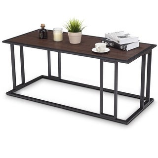 Link to Gymax Coffee Cocktail Accent End Table Side Sofa Living Room Essentials Furniture Similar Items in Living Room Furniture