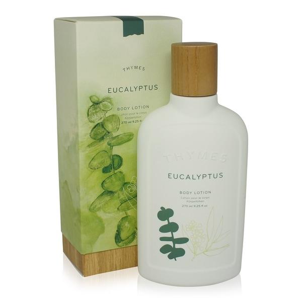 Thymes Body Lotion Eucalyptus 9.25 Oz Bottle