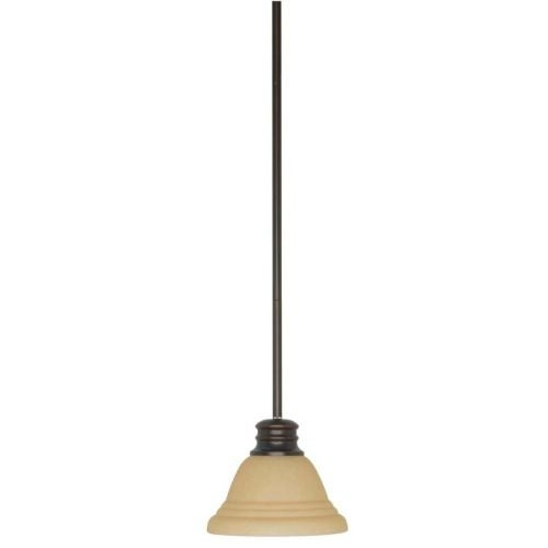 Nuvo Lighting 60/3132 Empire 1 Light Pendant with Frosted Glass Shade