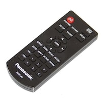 OEM Panasonic Remote Control Originally Shipped With: TH84EF1U, TH-84EF1U, TH43LFE8, TH-43LFE8