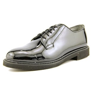 Rothco Uniform Hi-Gloss Men Round Toe Synthetic Black Oxford