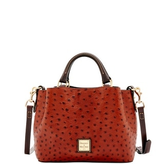 Dooney & Bourke Ostrich Mini Barlow (Introduced by Dooney & Bourke at $248 in Aug 2016) - Cognac