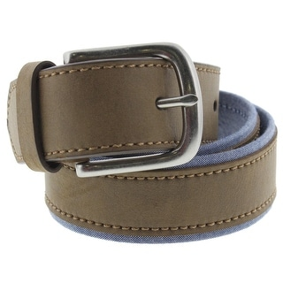 Levi's Mens Casual Belt Leather Trim Buckle