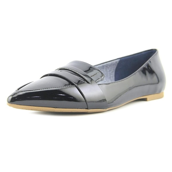 Dr. Scholl's Sofie Women Pointed Toe Patent Leather Black Loafer
