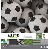 """Soccer - Paper House Paper Crafting Kit 12""""X12"""""""