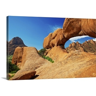 """""""The arch at Spitzkoppe, Namibia, Africa"""" Canvas Wall Art"""