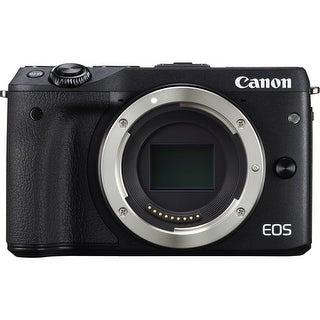 Canon EOS M3 Mirrorless Digital Camera (Body Only, Black) (International Model)