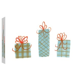 """PTM Images 9-102080  PTM Canvas Collection 8"""" x 10"""" - """"Gifts 1"""" Giclee Holiday Art Print on Canvas"""