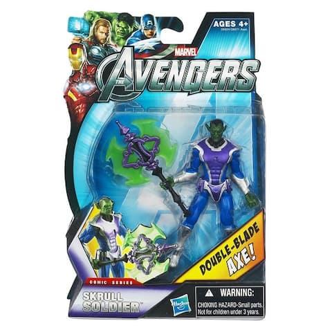 """Marvel Avengers Comic Series 3.75"""" Action Figure: Skrull Soldier - multi"""