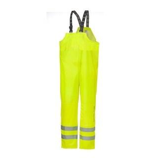 Helly Hansen Workwear Mens Narvik Bib High Visibility - Yellow - S